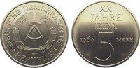 5 Mark 1969 Deutsche Demokratische Republik  Stempelglanz  35,00 EUR  zzgl. 5,00 EUR Versand