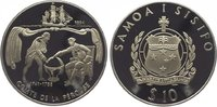 10 Tala 1994 Samoa Westsamoa 1962-1997. Polierte Platte  29,00 EUR  zzgl. 5,00 EUR Versand
