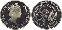 5 Dollars 1992 Cook Islands Elizabeth II. seit 1952. Polierte Platte  9,00 EUR  zzgl. 5,00 EUR Versand