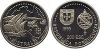 200 Escudos 1995 Portugal Republik seit 1910. Polierte Platte  24,00 EUR  zzgl. 5,00 EUR Versand