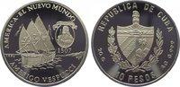 10 Pesos 1996 Kuba (Cuba) Republik seit 1902. Polierte Platte  29,00 EUR  zzgl. 5,00 EUR Versand