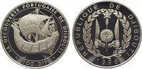 100 Francs 1996 Djibouti Republik seit 1977. Polierte Platte  29,00 EUR  zzgl. 5,00 EUR Versand