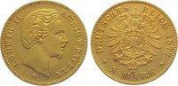 5 Mark Gold 1877  D Bayern Ludwig II. 1864-1886. Sehr schön - vorzüglic... 645,00 EUR kostenloser Versand