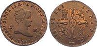 Cu 2 Maravedis 1841 Spanien-Königreich Isabel II. 1833-1868. Prachtexem... 245,00 EUR  zzgl. 5,00 EUR Versand