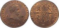 Cu 2 Maravedis 1843 Spanien-Königreich Isabel II. 1833-1868. Vorzüglich... 165,00 EUR  zzgl. 5,00 EUR Versand