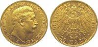 20 Mark Gold 1905  J Preußen Wilhelm II. 1888-1918. Sehr schön +  325,00 EUR kostenloser Versand