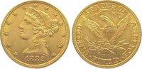 5 Dollars Gold 1882 Vereinigte Staaten von Amerika  Sehr schön - vorzüg... 345,00 EUR kostenloser Versand