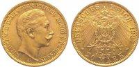 20 Mark Gold 1907  A Preußen Wilhelm II. 1888-1918. Vorzüglich  325,00 EUR kostenloser Versand