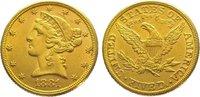5 Dollars Gold 1881 Vereinigte Staaten von Amerika  Sehr schön - vorzüg... 345,00 EUR kostenloser Versand