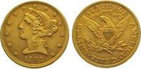 5 Dollars Gold 1895 Vereinigte Staaten von Amerika  Sehr schön - vorzüg... 345,00 EUR kostenloser Versand