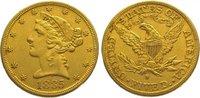 5 Dollars Gold 1885  S Vereinigte Staaten von Amerika  Sehr schön  320,00 EUR kostenloser Versand