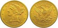 5 Dollars Gold 1886  S Vereinigte Staaten von Amerika  Vorzüglich  375,00 EUR kostenloser Versand