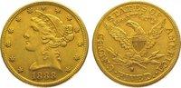 5 Dollars Gold 1888  S Vereinigte Staaten von Amerika  Sehr schön - vor... 345,00 EUR kostenloser Versand