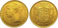 20 Kronen Gold 1908 Dänemark Frederik VIII. 1906-1912. Vorzüglich - Ste... 375,00 EUR kostenloser Versand