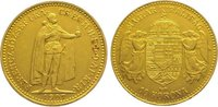 10 Korona Gold 1907 Ungarn Franz Josef I. 1848-1916. Sehr schön - vorzü... 135,00 EUR  zzgl. 5,00 EUR Versand