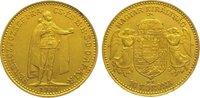 10 Korona Gold 1911 Ungarn Franz Josef I. 1848-1916. Fast vorzüglich  145,00 EUR  zzgl. 5,00 EUR Versand