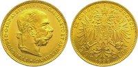 20 Kronen Gold 1892 Römisch Deutsches Reich Franz Joseph I. 1848-1916. ... 375,00 EUR kostenloser Versand