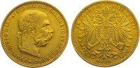 20 Kronen Gold 1894 Römisch Deutsches Reich Franz Joseph I. 1848-1916. ... 265,00 EUR kostenloser Versand