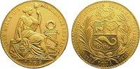 100 Soles Gold 1965 Peru Republik seit 1821/1825. Berieben, vorzüglich  1895,00 EUR kostenloser Versand
