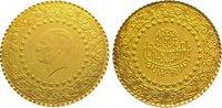 25 Piaster Gold 1974 Türkei Republik. Vorzüglich  85,00 EUR  zzgl. 5,00 EUR Versand