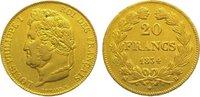 20 Francs Gold 1834  B Frankreich Louis Philipp 1830-1848. Sehr schön -... 285,00 EUR kostenloser Versand
