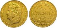 20 Francs Gold 1847  A Frankreich Louis Philipp 1830-1848. Sehr schön -... 285,00 EUR kostenloser Versand