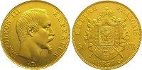 50 Francs Gold 1857  A Frankreich Napoleon III. 1852-1870. Winz. Randfe... 795,00 EUR kostenloser Versand