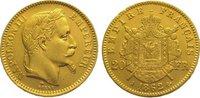20 Francs Gold 1862  A Frankreich Napoleon III. 1852-1870. Fast vorzügl... 285,00 EUR kostenloser Versand