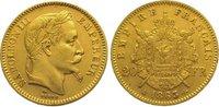 20 Francs Gold 1863  A Frankreich Napoleon III. 1852-1870. Sehr schön -... 275,00 EUR kostenloser Versand