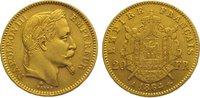 20 Francs Gold 1864  A Frankreich Napoleon III. 1852-1870. Sehr schön -... 275,00 EUR kostenloser Versand