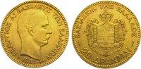 20 Drachmen Gold 1884 Griechenland Georg I. 1863-1913. Sehr schön  295,00 EUR kostenloser Versand