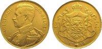 20 Francs Gold 1914 Belgien, Königreich Albert I. 1909-1934. Vorzüglich  275,00 EUR kostenloser Versand