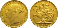 Sovereign Gold 1887  S Australien Victoria 1837-1901. Winz. Randfehler,... 345,00 EUR kostenloser Versand
