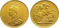 Sovereign Gold 1891  M Australien Victoria 1837-1901. Vorzüglich - Stem... 385,00 EUR kostenloser Versand