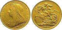Sovereign Gold 1899  M Australien Victoria 1837-1901. Vorzüglich - Stem... 385,00 EUR kostenloser Versand