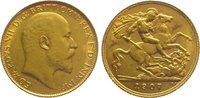 Half Sovereign Gold 1907 Großbritannien Edward VII. 1901-1910. Kl. Krat... 195,00 EUR  zzgl. 5,00 EUR Versand