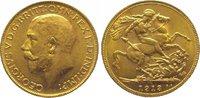 Pound Gold 1913  M Australien Georg V. 1910-1936. Vorzüglich - Stempelg... 365,00 EUR kostenloser Versand