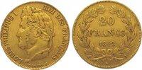 20 Francs Gold 1842  A Frankreich Louis Philipp 1830-1848. Sehr schön  255,00 EUR kostenloser Versand