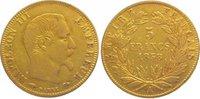 5 Francs Gold 1858  A Frankreich Napoleon III. 1852-1870. Sehr schön  115,00 EUR  zzgl. 5,00 EUR Versand