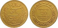 20 Francs Gold 1903 A (AH 1321) Tunesien Französisches Protektorat. Fas... 285,00 EUR kostenloser Versand