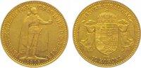 10 Korona Gold 1908 Ungarn Franz Josef I. 1848-1916. Sehr schön - vorzü... 145,00 EUR  zzgl. 5,00 EUR Versand
