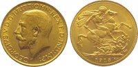 Sovereign Gold 1913 Großbritannien George V. 1910-1936. Vorzüglich  325,00 EUR kostenloser Versand