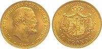 10 Kronen Gold 1901 Schweden Oskar II. 1872-1907. Vorzüglich - Stempelg... 235,00 EUR  zzgl. 5,00 EUR Versand