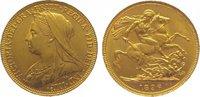 Sovereign Gold 1896 Großbritannien Victoria 1837-1901. Fast vorzüglich  345,00 EUR kostenloser Versand