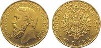 10 Mark Gold 1876  G Baden Friedrich I. 1856-1907. Sehr schön - vorzügl... 285,00 EUR kostenloser Versand