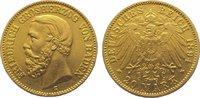 20 Mark Gold 1894  G Baden Friedrich I. 1856-1907. Sehr schön +  425,00 EUR kostenloser Versand