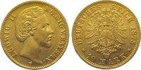 10 Mark Gold 1875  D Bayern Ludwig II. 1864-1886. Sehr schön +  245,00 EUR  zzgl. 5,00 EUR Versand