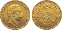10 Mark Gold 1909  A Preußen Wilhelm II. 1888-1918. Sehr schön  175,00 EUR  zzgl. 5,00 EUR Versand