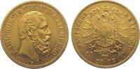 20 Mark Gold 1873  F Württemberg Karl 1864-1891. Sehr schön +  350,00 EUR kostenloser Versand