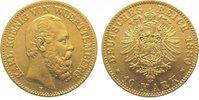 10 Mark Gold 1880  F Württemberg Karl 1864-1891. Fast vorzüglich  325,00 EUR kostenloser Versand